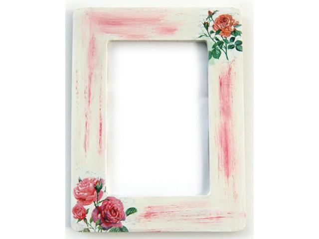 Rama foto lemn trandafiri 5743