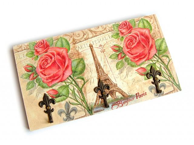 Cuier din lemn handmade Paris 7561