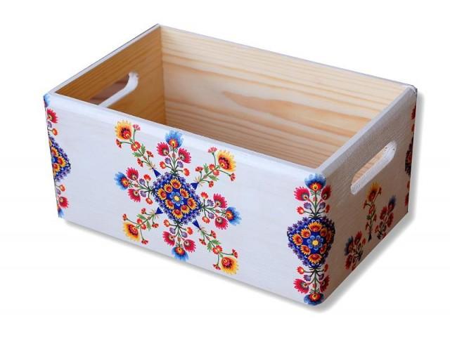 Ladita lemn motiv traditional 8266