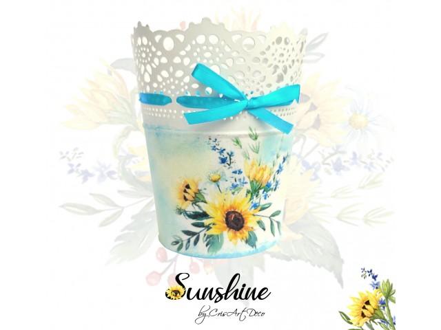 Ghiveci decorativ floarea soarelui  - 131030