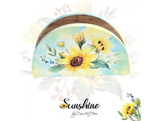 Suport servetele hartie - floarea soarelui 132029