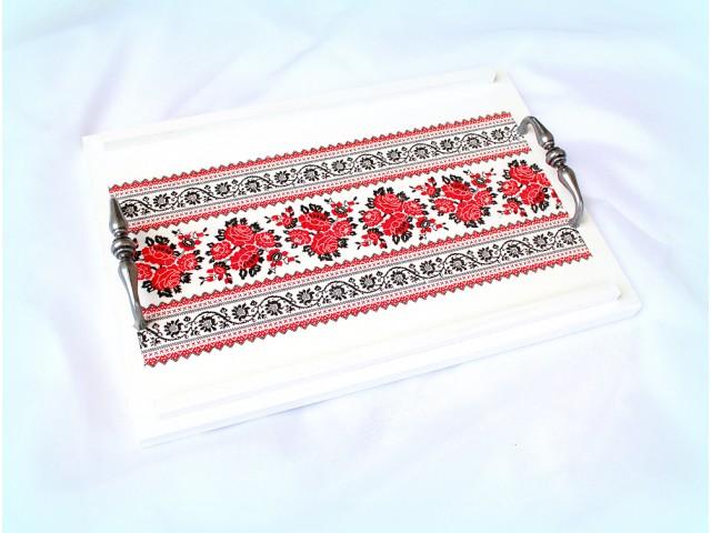 Tava lemn - motiv traditional - 1515